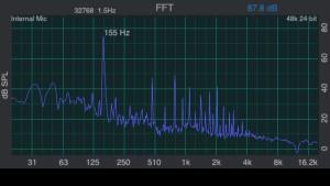 Main 155 Hz.